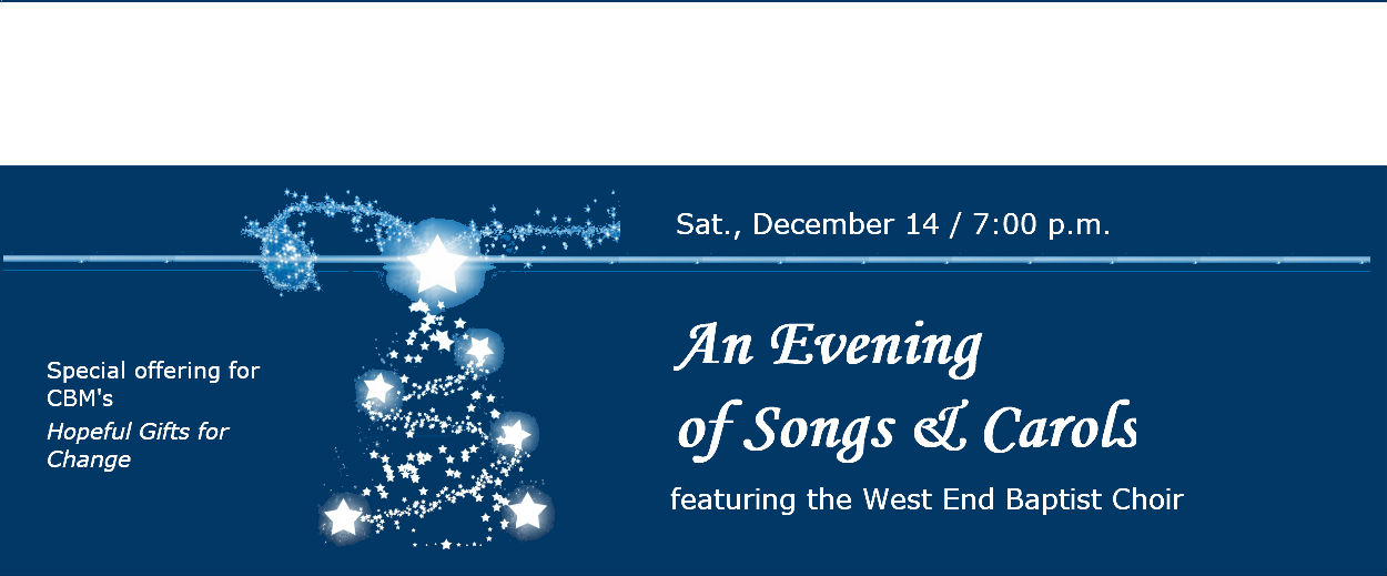 An Evening of Songs & Carols
