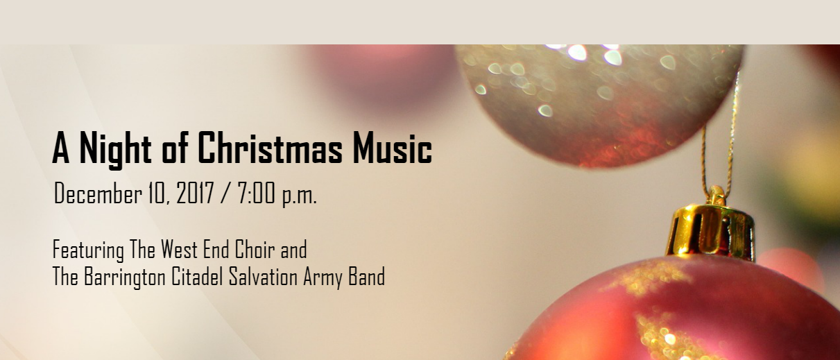 A Night of Christmas Music - December 10, 2017