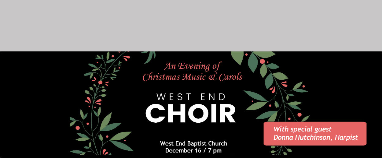 An Evening of Christmas Music & Carols