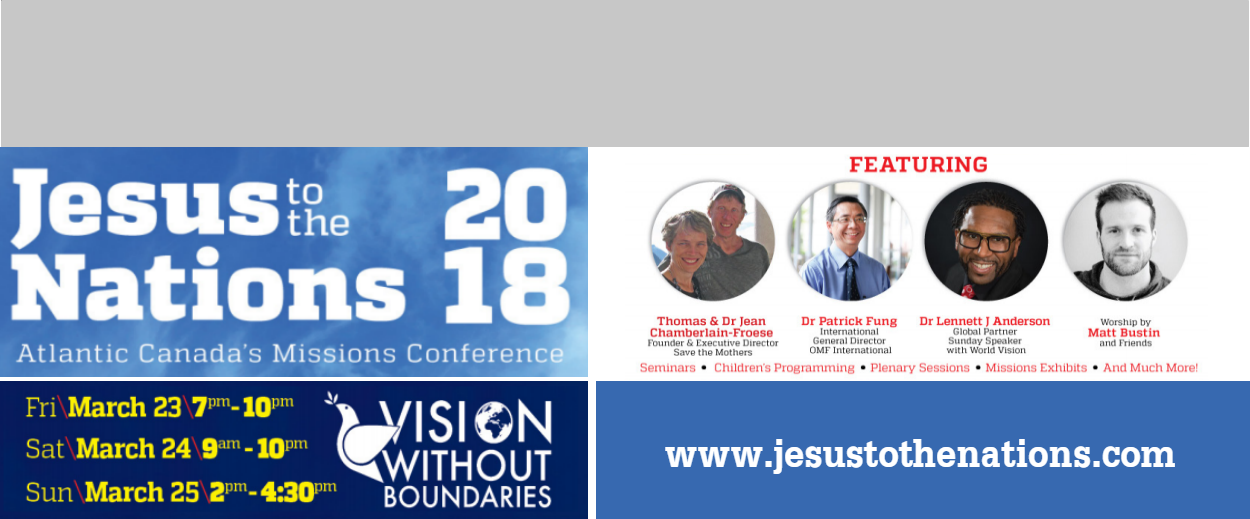 Jesus to the Nations 2018 - March 23-25