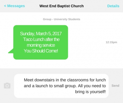Small Group for University students launches